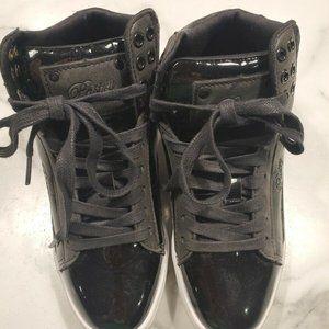 Pastry Love Size 5.5 Hi Top Shoes Black Dance